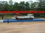 can dien tu, cân điện tử - Lắp cân xe tải 80 tấn
